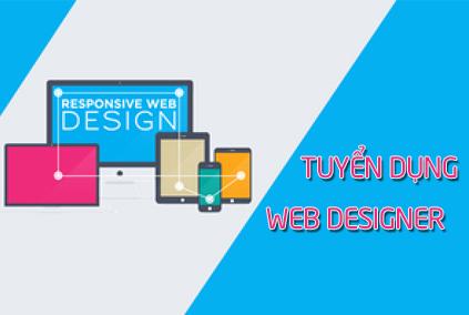 TUYỂN NHÂN VIÊN THIẾT KẾ WEBSITE, CẮT HTML/CSS